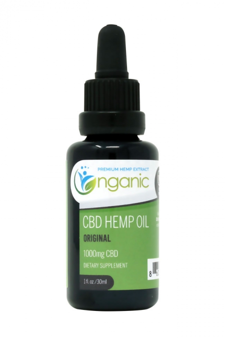 1000mg original (unflavored) CBD Oil