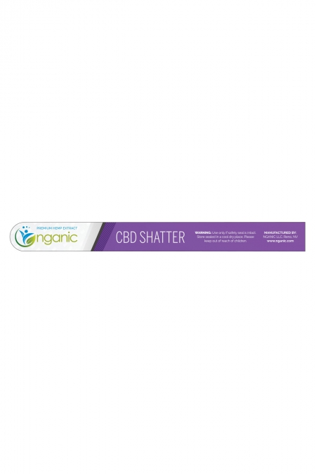 CBD Shatter Label